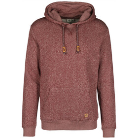 tentree Parksville P/O Hoodie Herren red mahogany marled